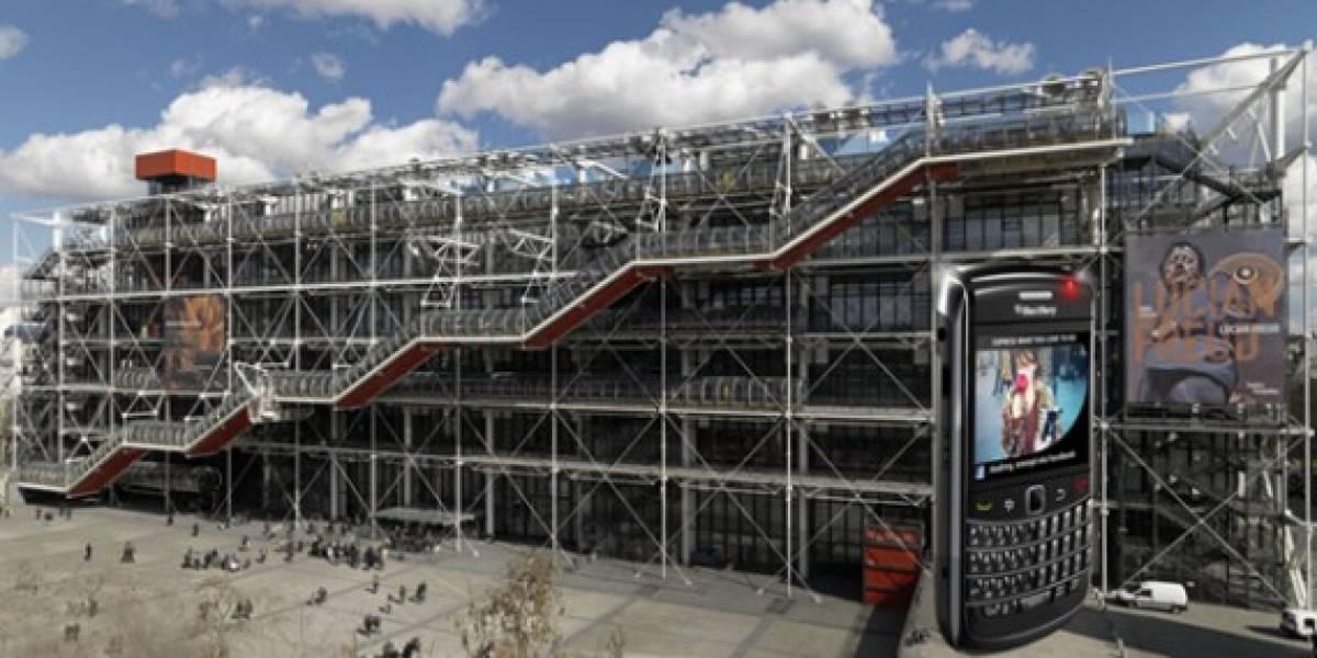 La BlackBerry más grande del mundo estará en París