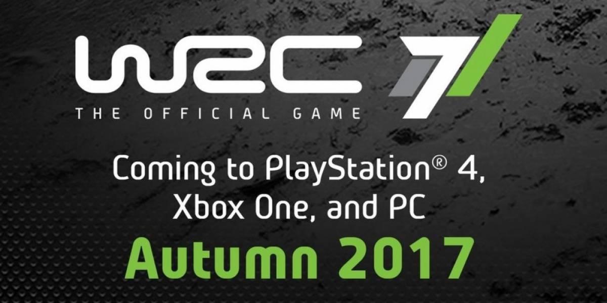 Se anuncia WRC 7 para múltiples plataformas