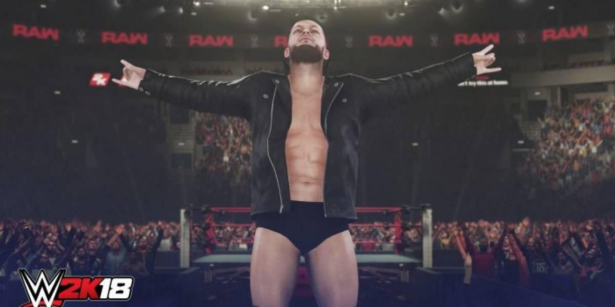 WWE 2K18 también se lanzará en versión para PC