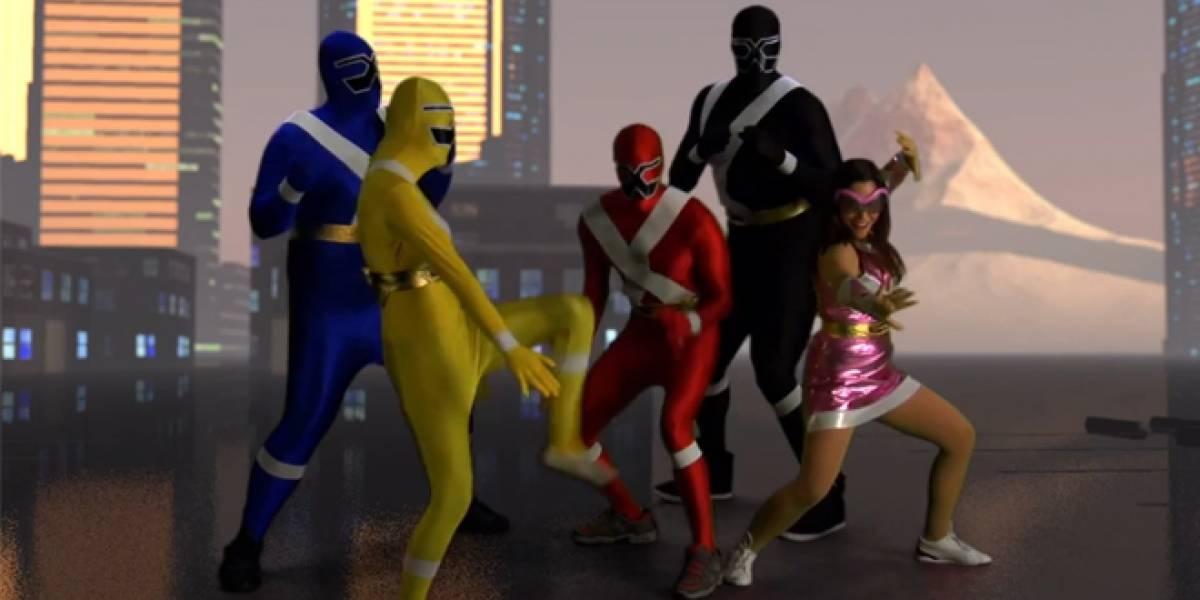 AMD y XFX crean su propia versión de los Power Rangers