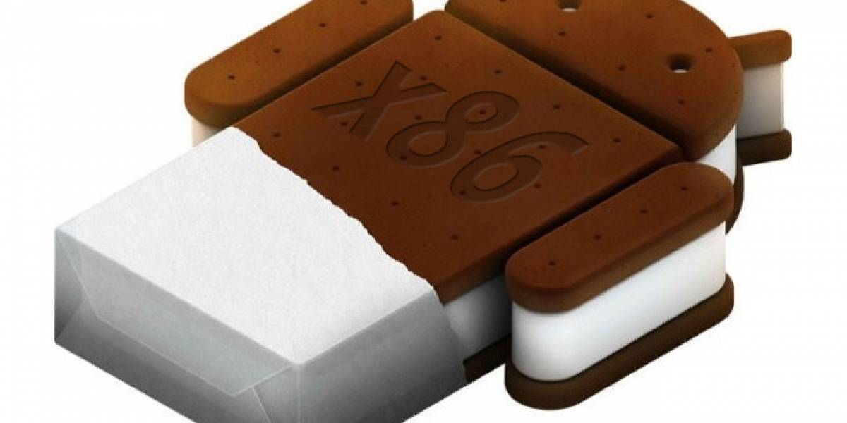 Android Ice Cream Sandwich corriendo en una tableta AMD