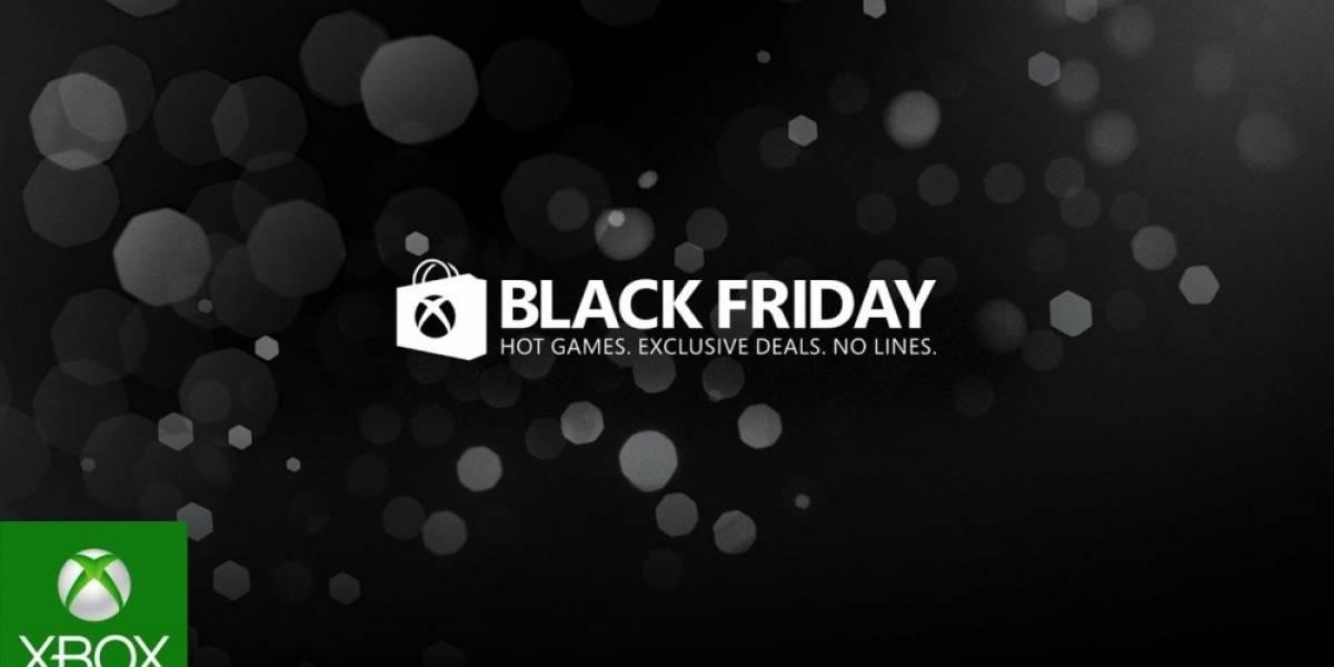 Xbox tiene ofertas de Black Friday para los suscriptores de Xbox Live Gold