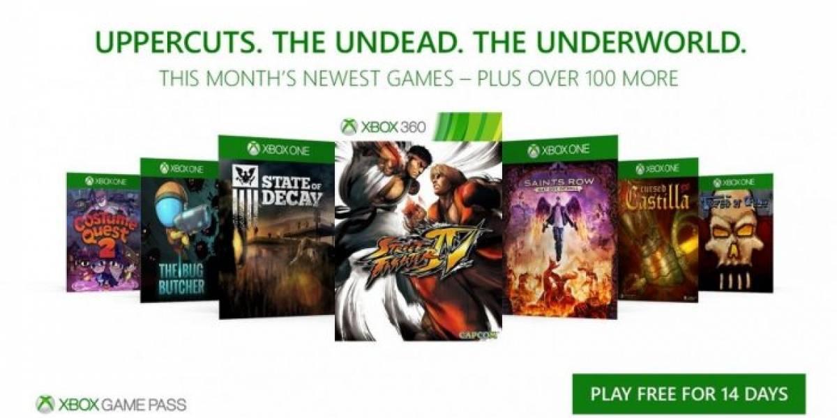 Xbox Games Pass agregará State of Decay, Street Fighter IV y más en octubre