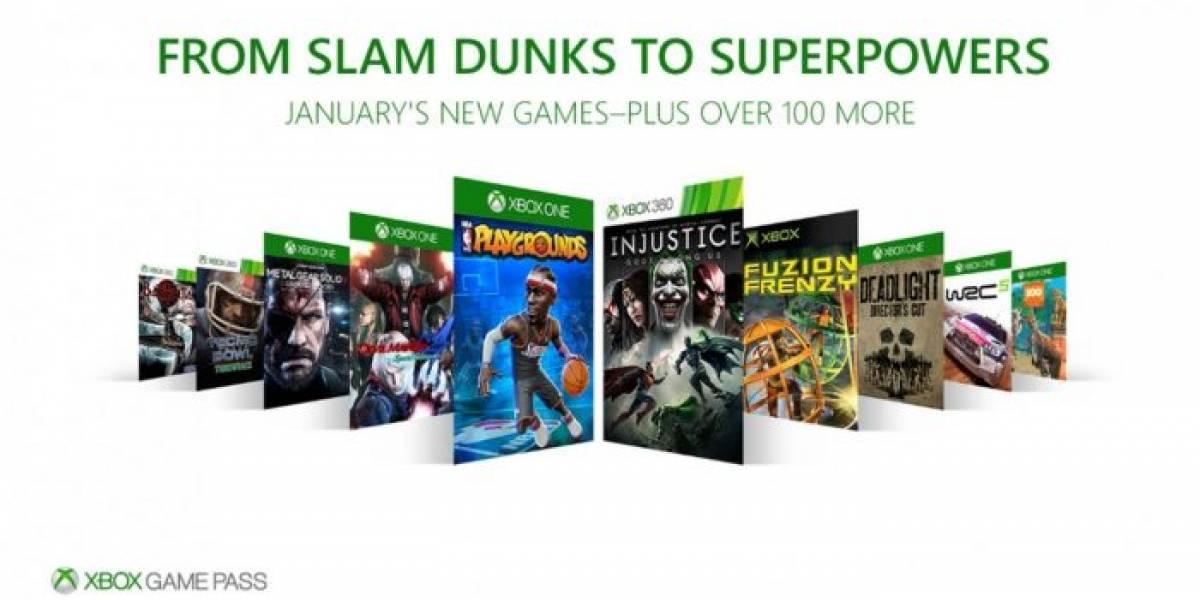 Xbox Game Pass agregará NBA Playgrounds, Injustice, Devil May Cry 4 y más