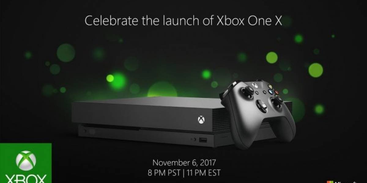 Ya está disponible la consola Xbox One X