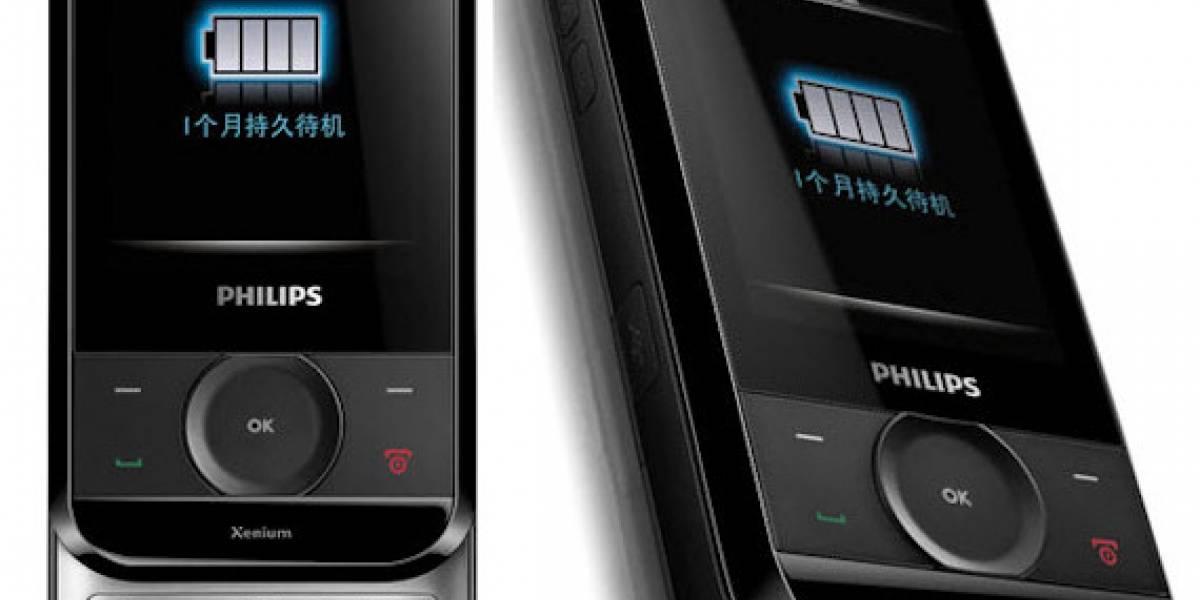 Philips Xenium X650: El primer slider de la serie