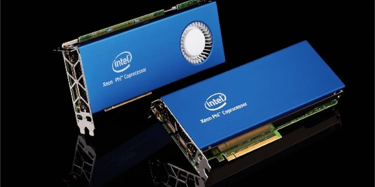 Especificaciones de los próximos aceleradores Intel Xeon Phi