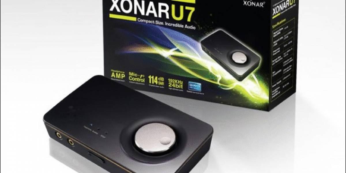 ASUS anuncia su nueva tarjeta de sonido externa Xonar U7 USB