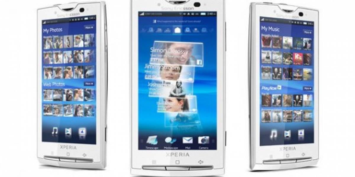 Sony Ericsson actualizará familia Xperia X10 a Android 2.1