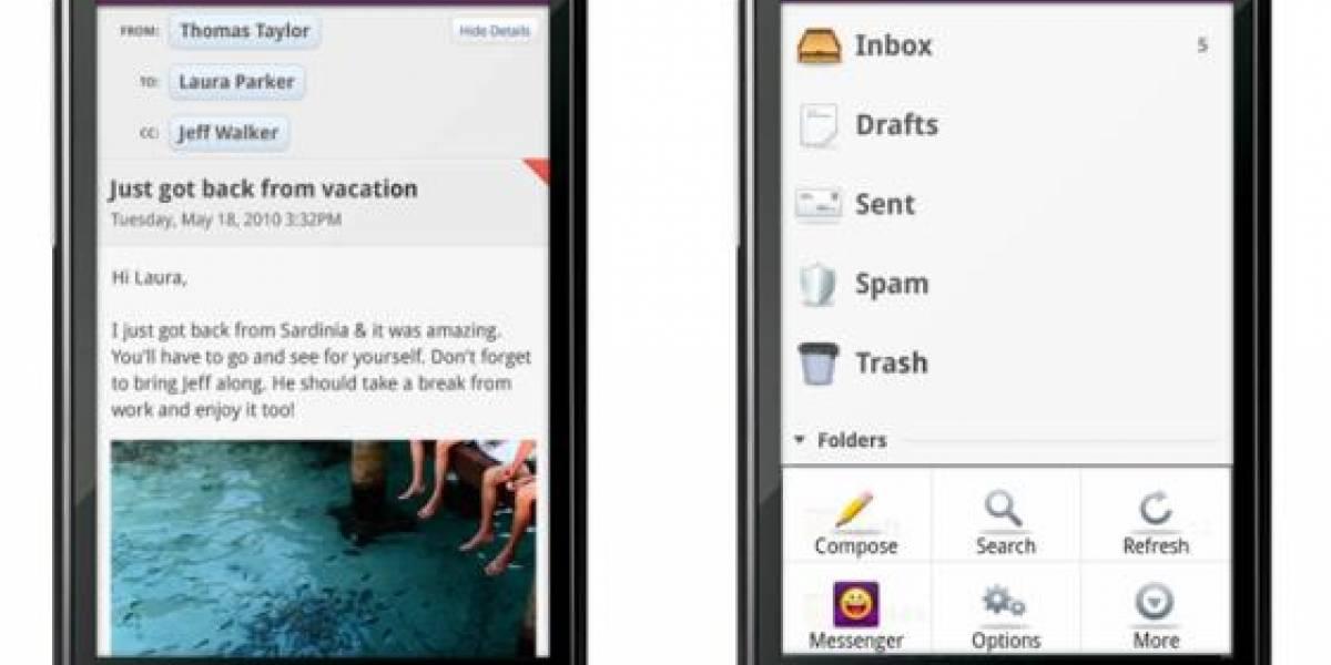 Yahoo lanza sus primeras aplicaciones para Android
