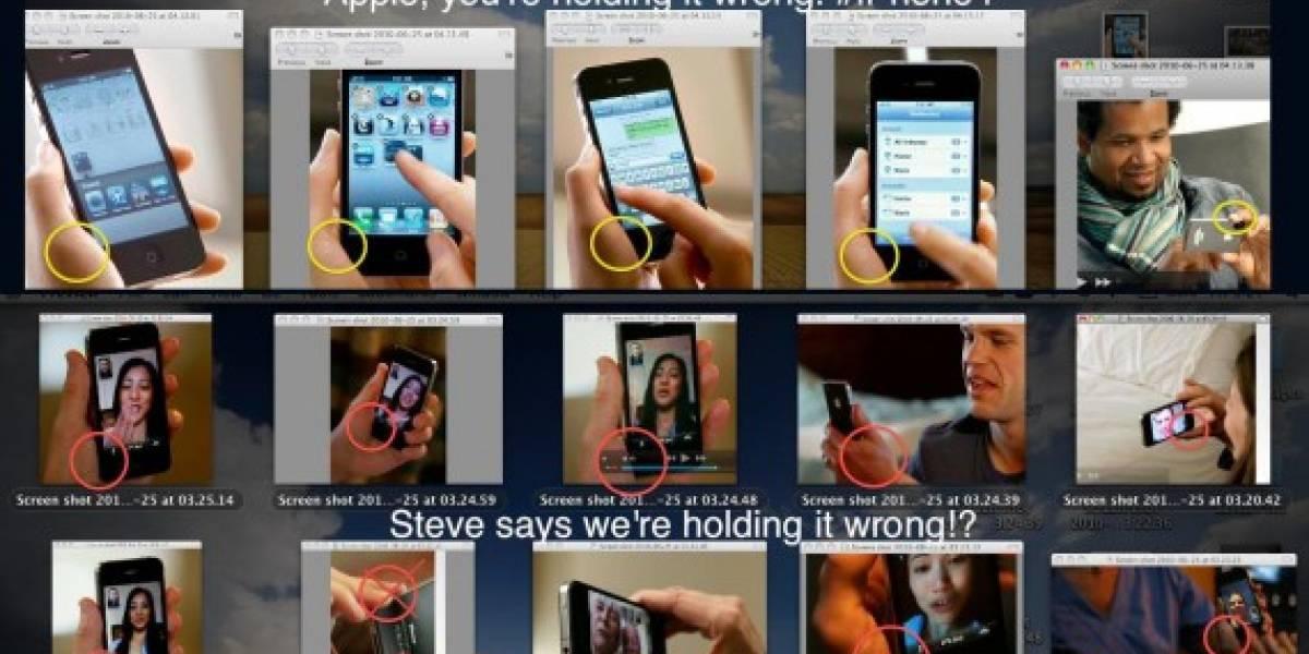 Usuarios se burlan de la respuesta dada por Jobs ante los problemas de señal del iPhone 4