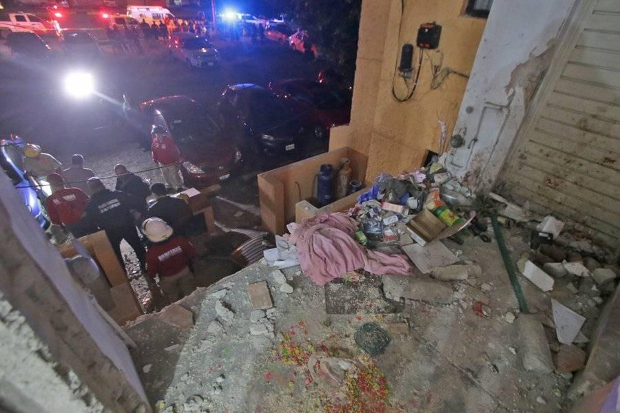 Edificio de Zapopan donde se registró explosión de gas presenta daño estructural