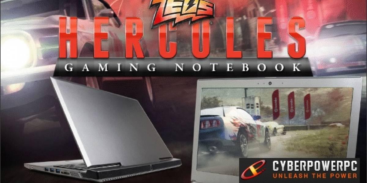 CyberPowerPC lanza su notebook Gamer Zeus Hercules