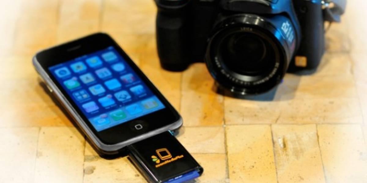 Lee tarjetas SD en tu iPhone gracias a ZoomIt