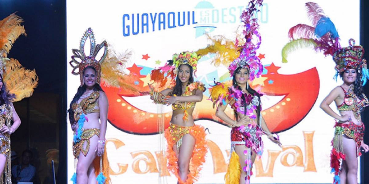 Guayaquil elige a su 'Reina del Carnaval'
