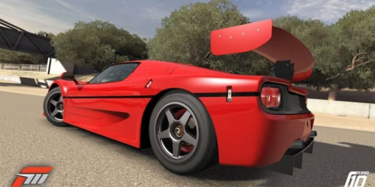 Los Ferrari de Forza 3