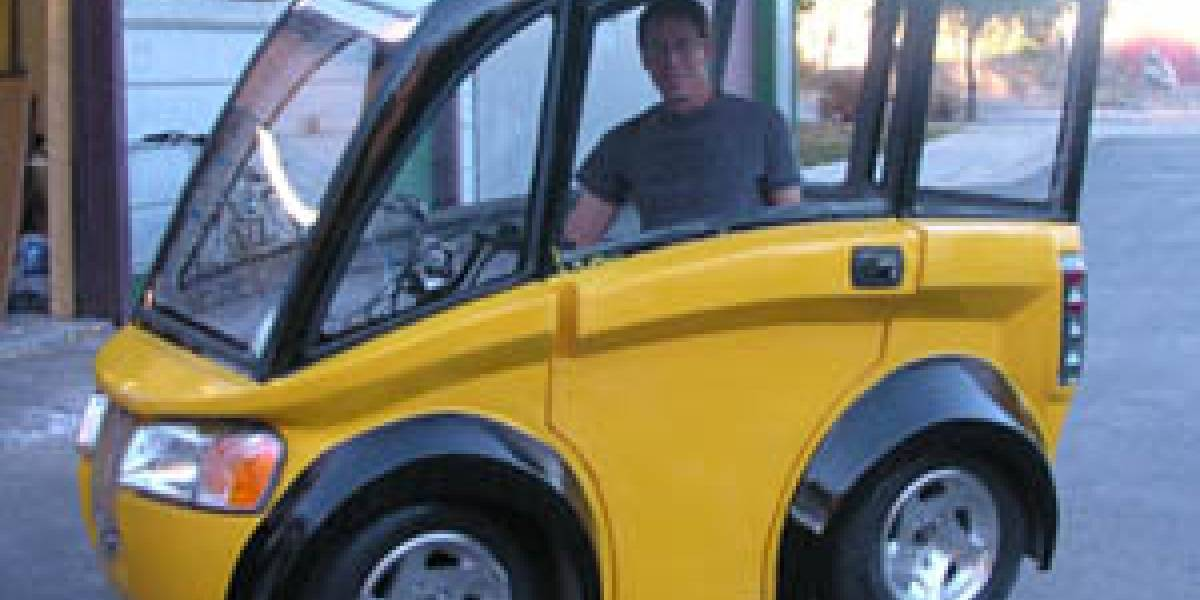 Solar Bug: Auto solar sale a la  venta