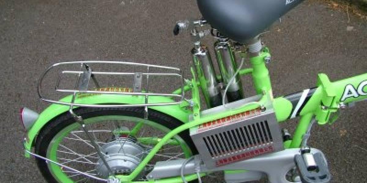 Bicicleta a hidrógeno a la venta