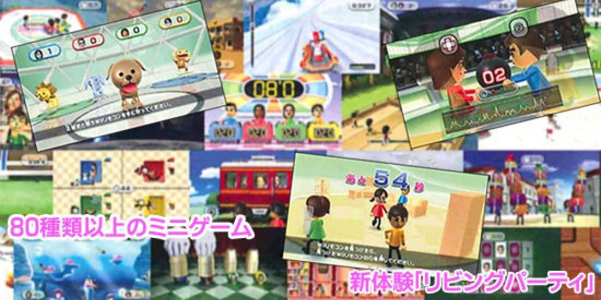 Más de 80 mini-juegos en WiiParty