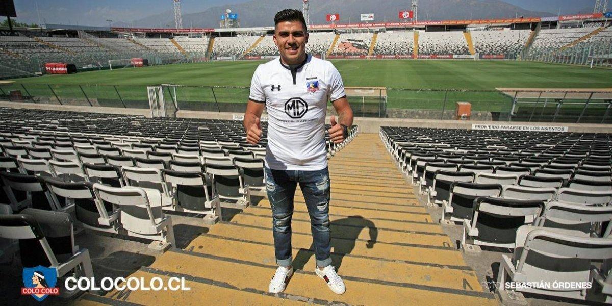 """El calvario de César Pinares para llegar a Colo Colo: """"Sentía que me estaban cortando las piernas"""""""