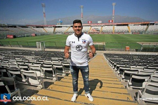 César Pinares ya es albo nuevamente / imagen: Facebook Colo Colo