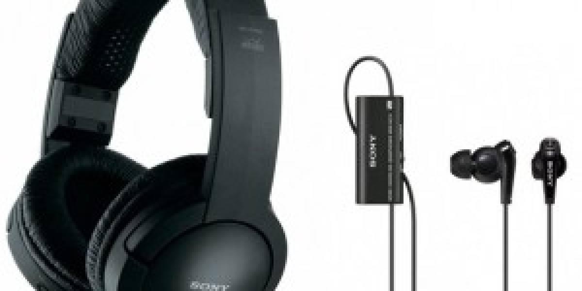 Llegan audífonos de Sony con cancelación de ruido y tecnología wifi: NC13 y RF856RK