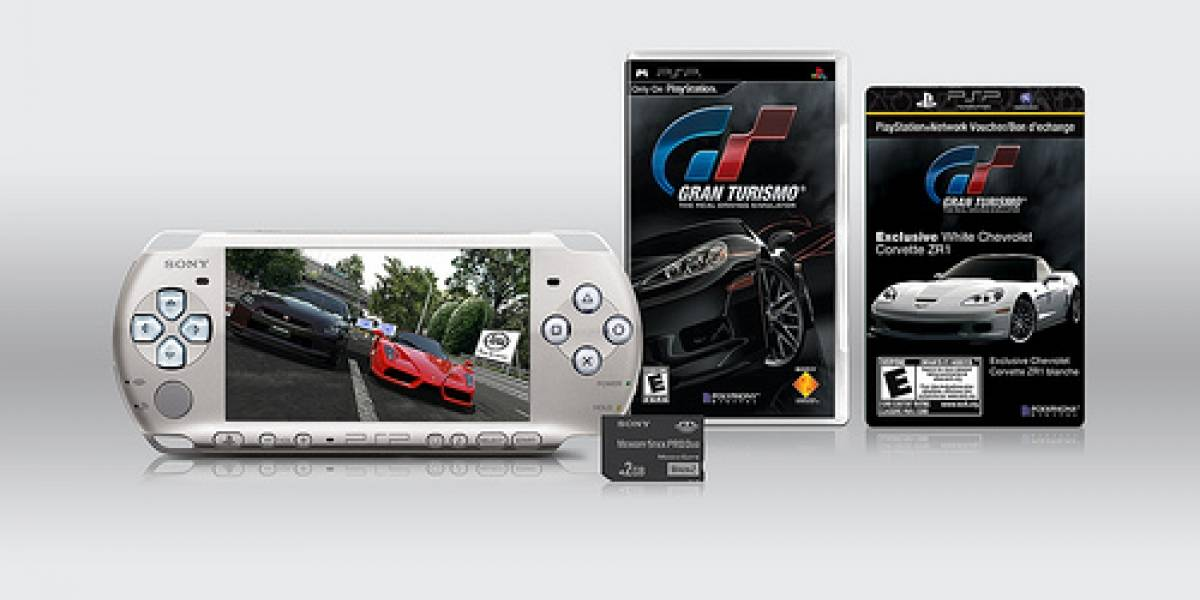 Nuevo paquete de PSP con Gran Turismo