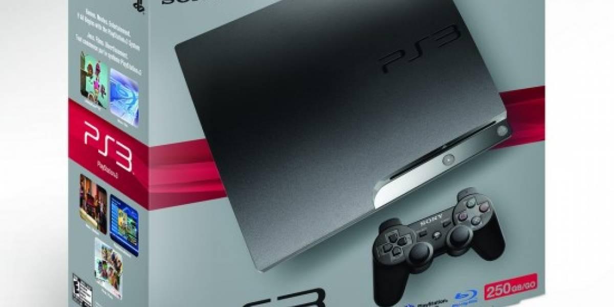 Era cosa de tiempo: PS3 250GB ahora en Norteamérica