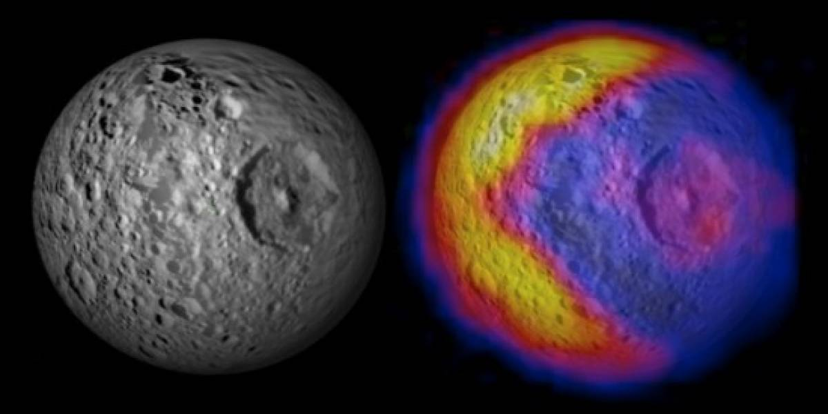 La NASA descubre a Pac-Man en el espacio