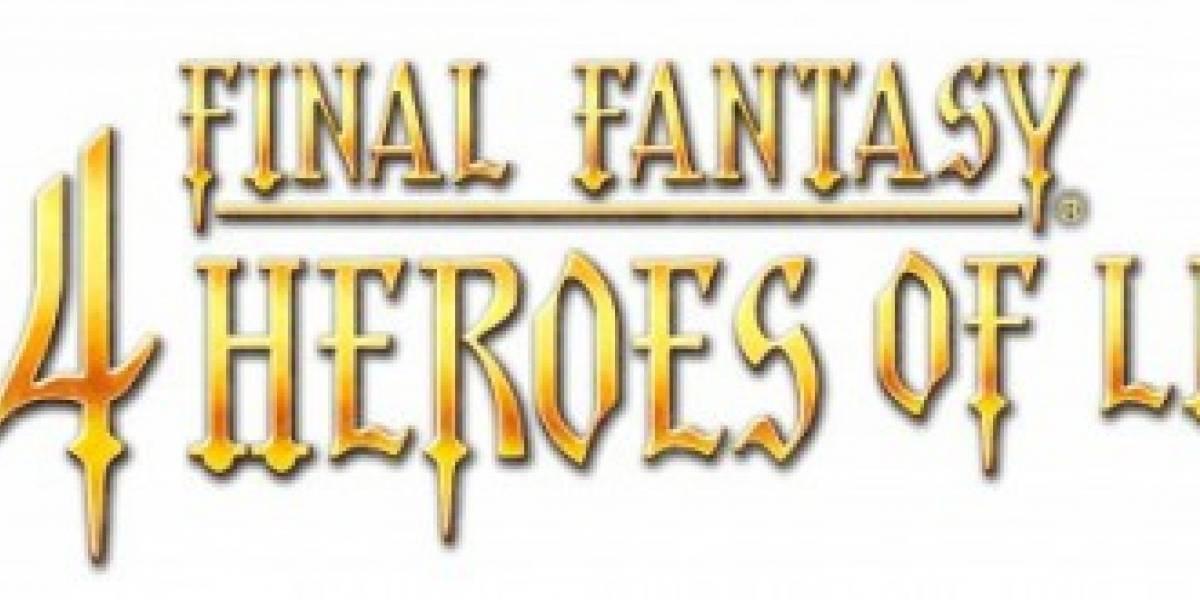 Final Fantasy The 4 Heroes of Light en octubre