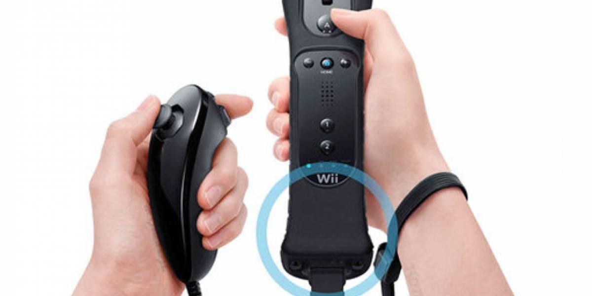 Wiimote + Wiimotion Plus + Nunchak Negros llegan a America