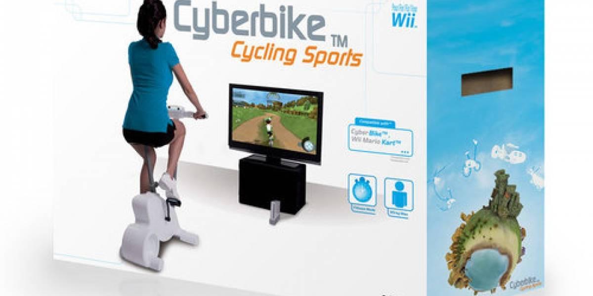 Cyberbike: La bicicleta de la Nintendo Wii