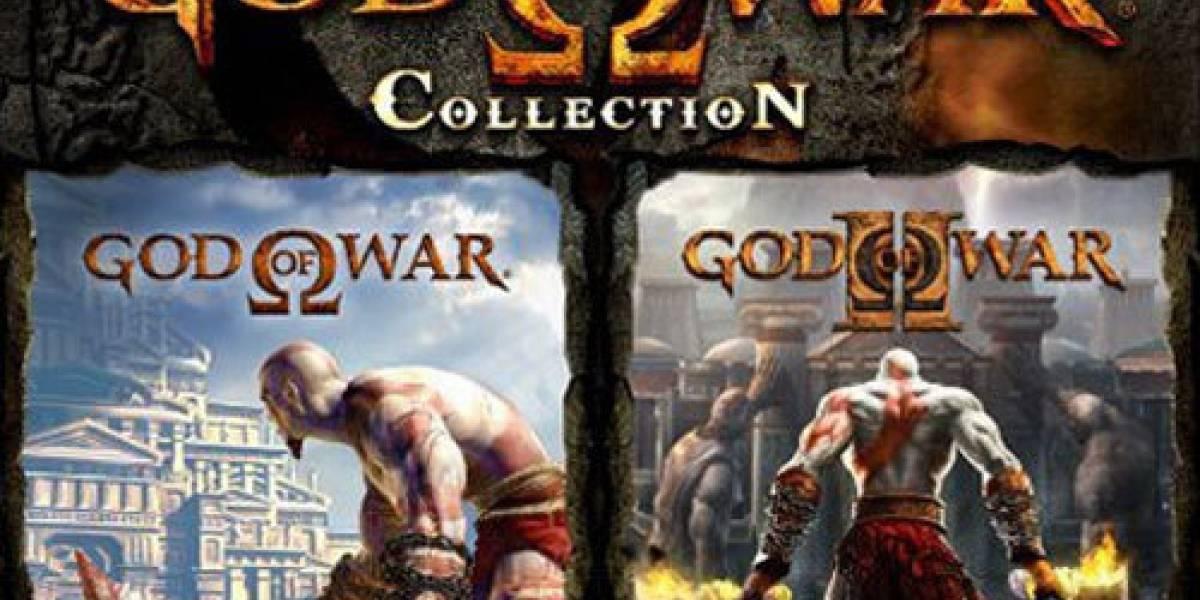 No habrá God of War Collection para Europa en el 2009