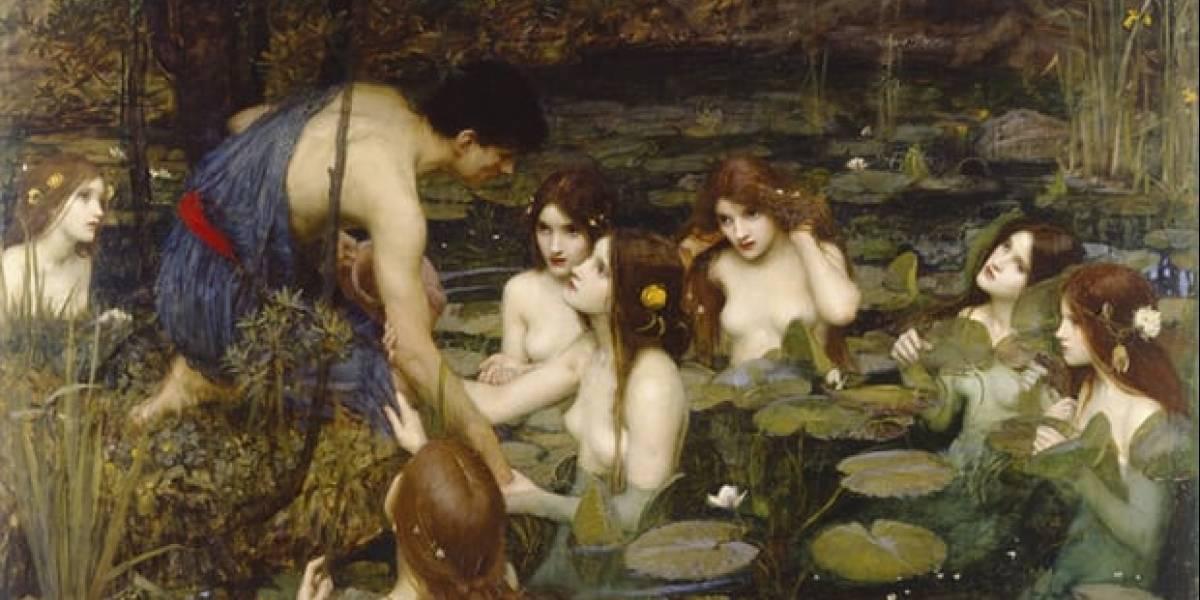 """Galería de arte desata la polémica: retira cuadro con ninfas desnudas de 1896 por """"cosificar a la mujer"""""""