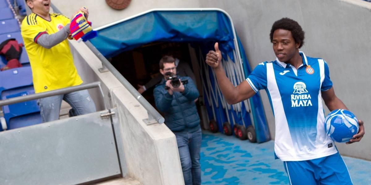Carlos Sánchez le manda una 'pulla' a Yerry Mina en su llegada al Espanyol