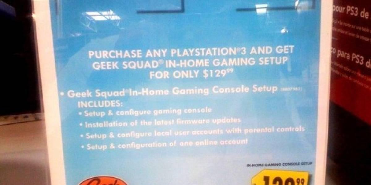 Soberana estupidez: Cobrar por hacer funcionar tu nueva PS3