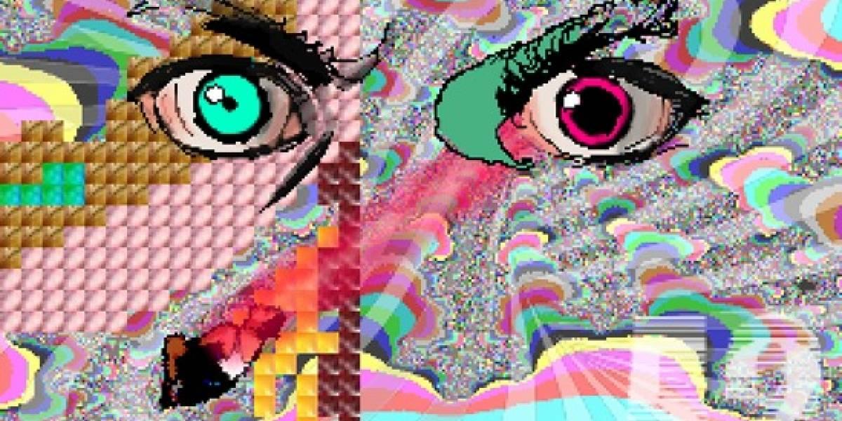 Acid Couch: Juego Browser sobre una chica en un mal viaje de ácido