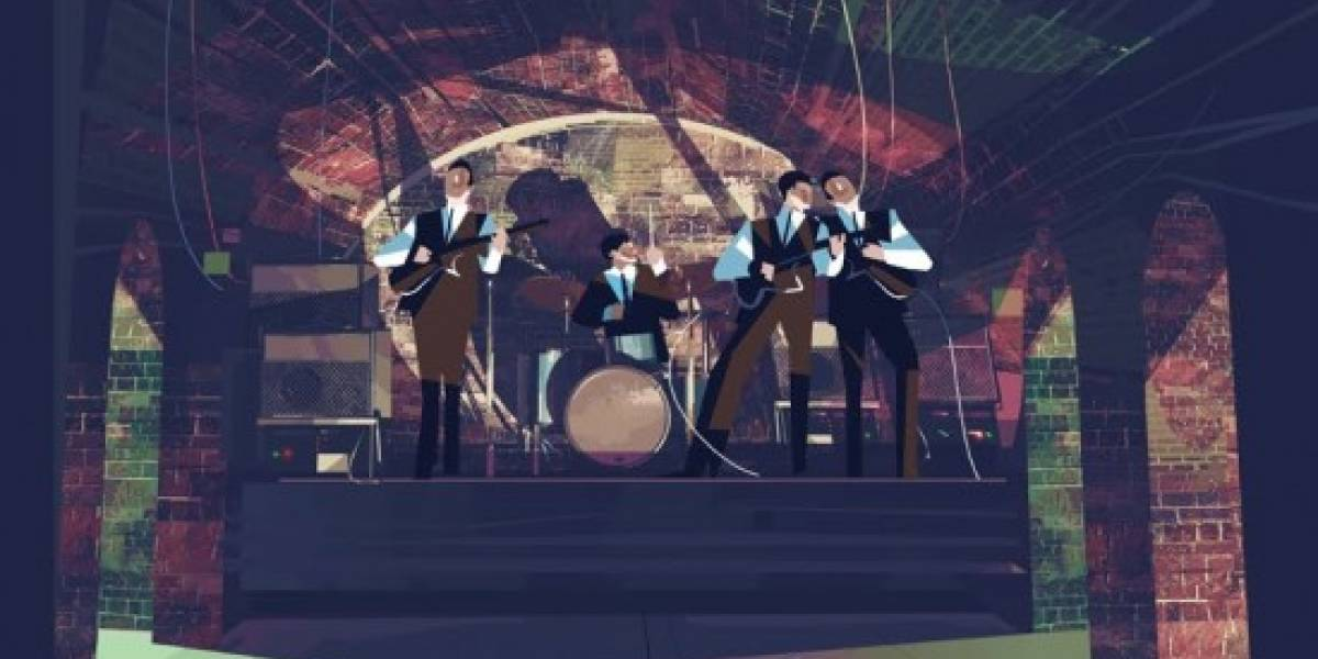 El arte de The Beatles Rock Band