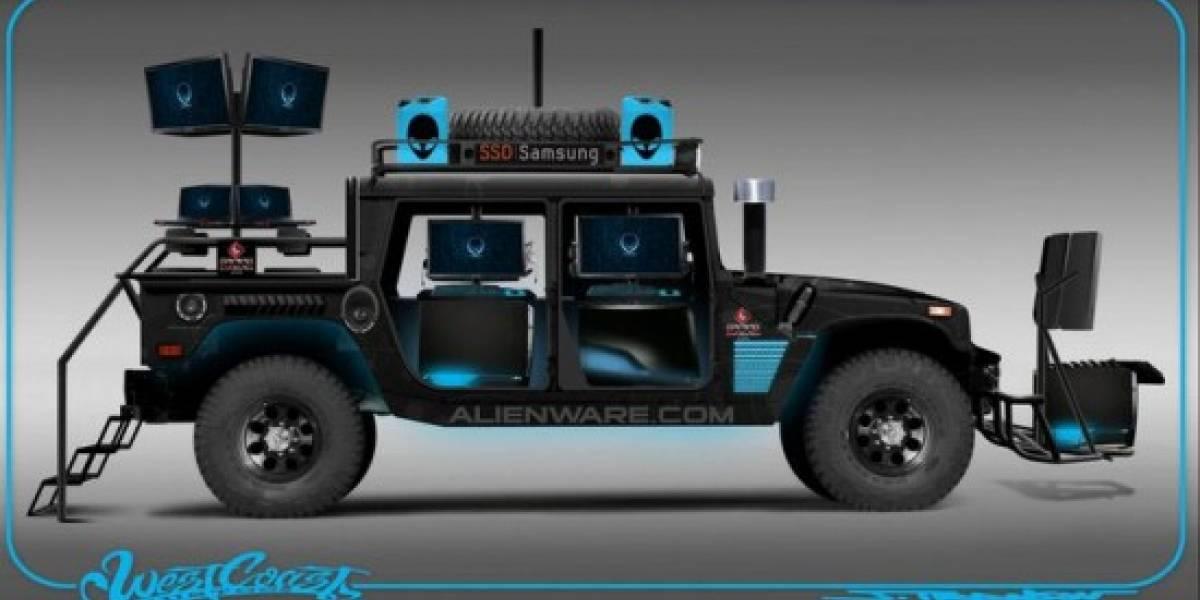 AMD muestra la Alienware Hummer LAN Party [Comic-Con 10]
