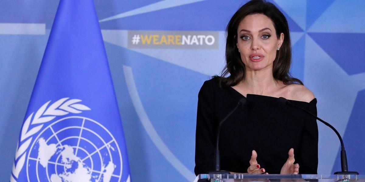 Angelina Jolie faz apelo emocionado para Otan combater estupro como arma de guerra