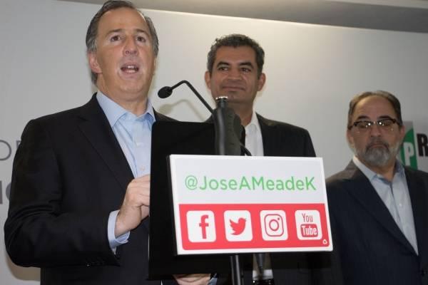 Avala PRI a Meade como su candidato a la Presidencia