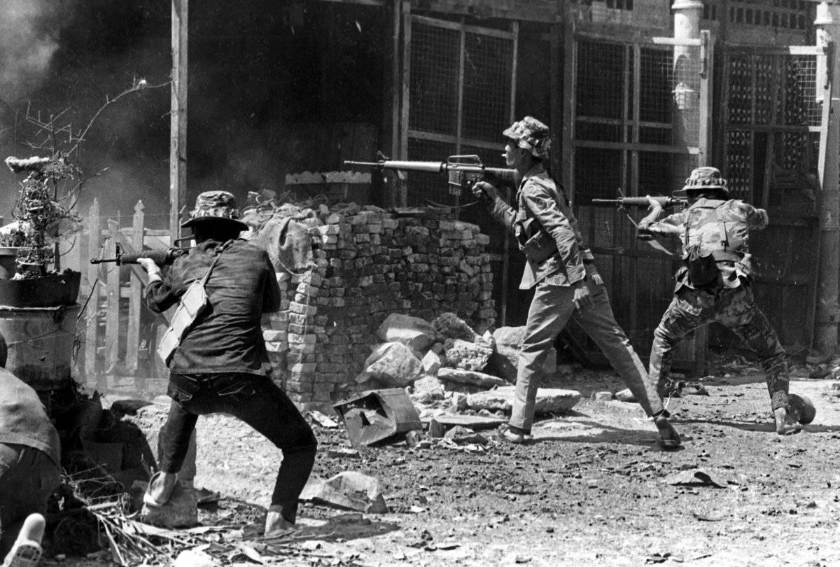 Guerra de Vietnam ofensiva del Tet