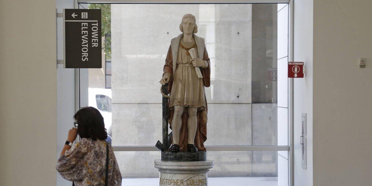 California estudia retirar estatua a Cristóbal Colón por 'ofensiva'
