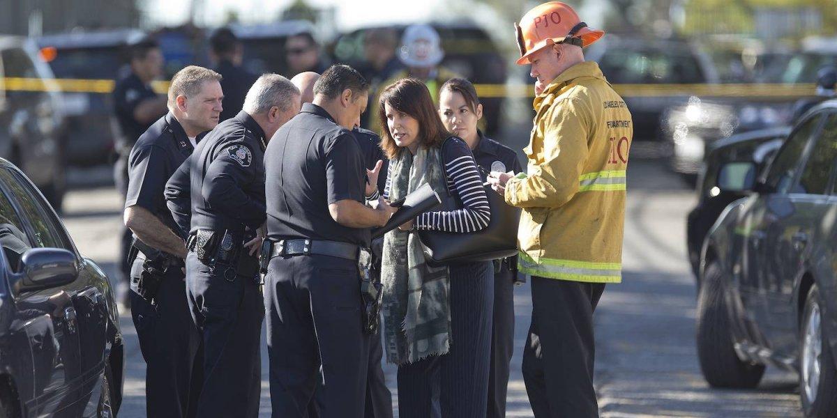 Dos estudiantes heridos en un tiroteo en una escuela de Los Ángeles