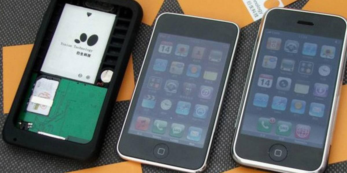 Funda convierte al iPod Touch en un teléfono