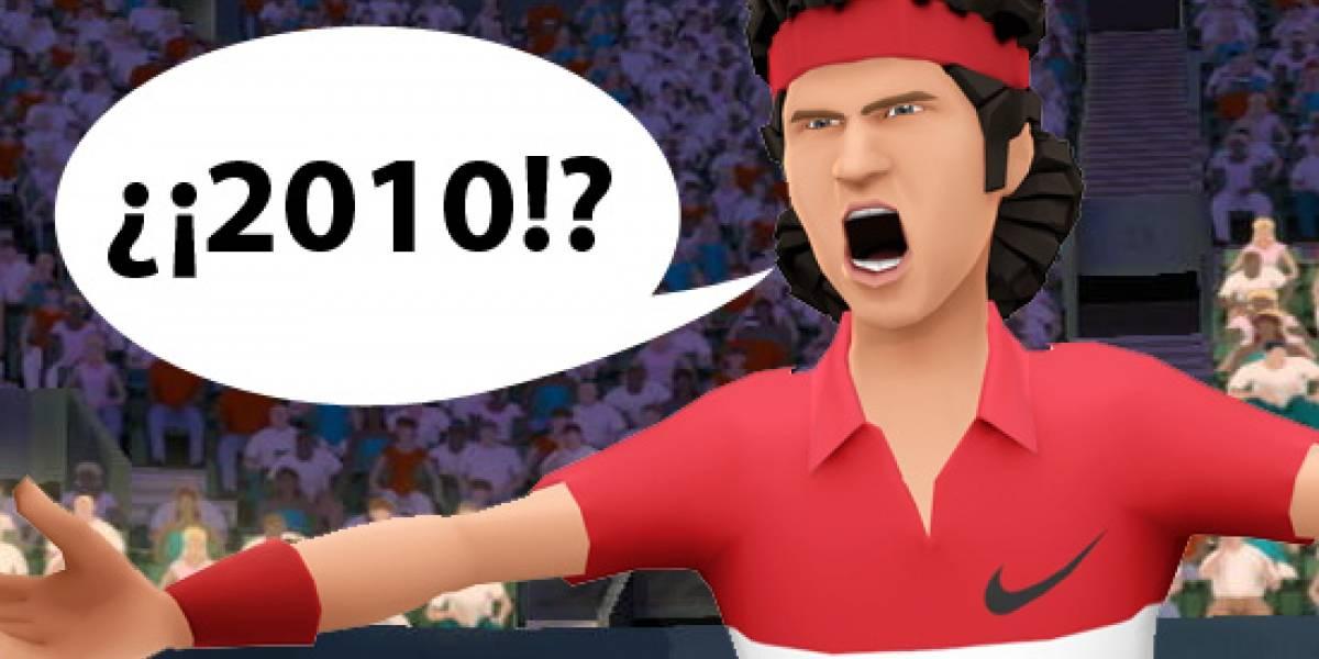 Grand Slam Tennis para 360 y PS3 para el 2010. Pista: Sensor de movimiento