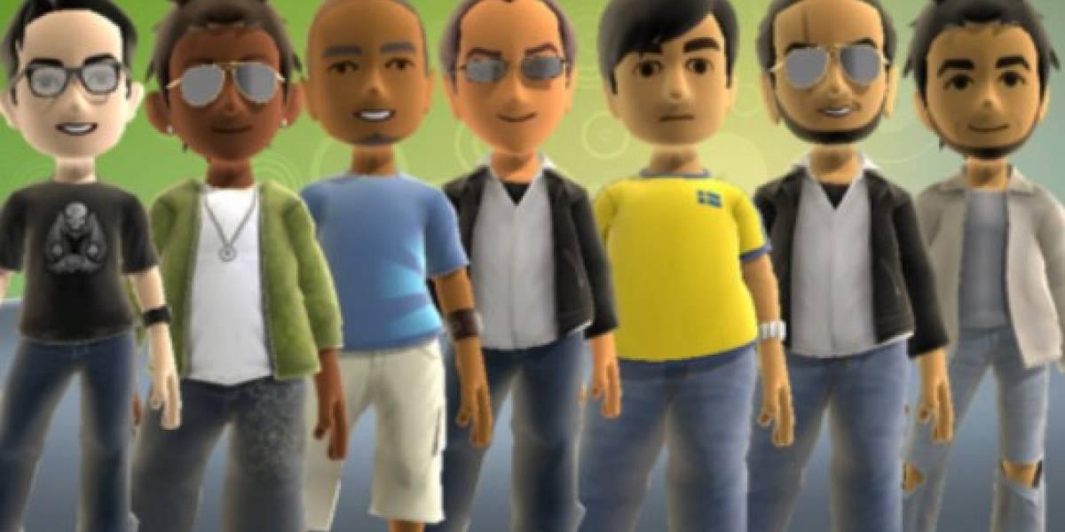 Avatars de XBOX 360 tendran un leve rediseño por Kinect