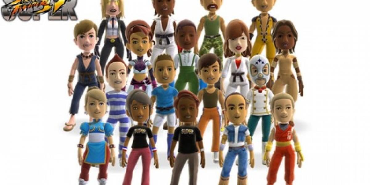 Ropa y disfraces de SSFIV para los avatares de Xbox Live