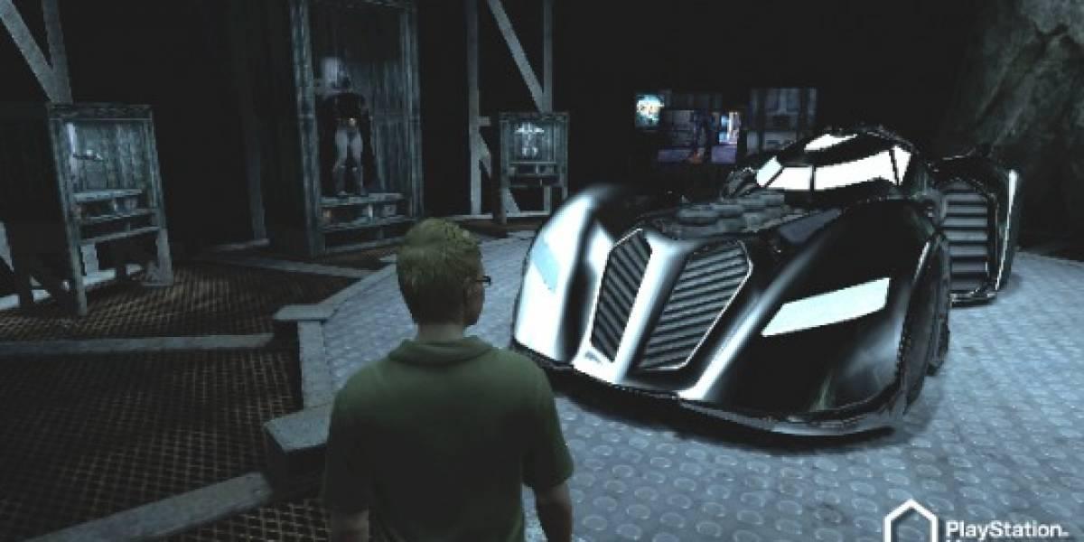 Tu propia Baticueva para PlayStation Home