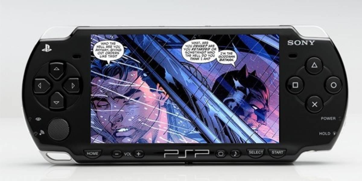 Los cómics de Batman y Superman llegan a tu PSP